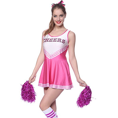 VARSITY COLLEGE SPORTS School Girl CHEERLEADER UNIFORM COSTUME OUTFIT 2XL us 18 20