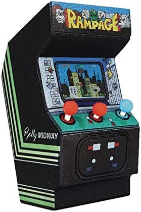 Llavero Cabinado Goma Rampage 7 cm Midway Classic Arcade Vintage Monogram: Amazon.es: Juguetes y juegos