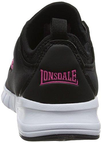 Negro Interior Propus Lonsdale Para Zapatillas pink black Mujer Deportivas wZxUYxq