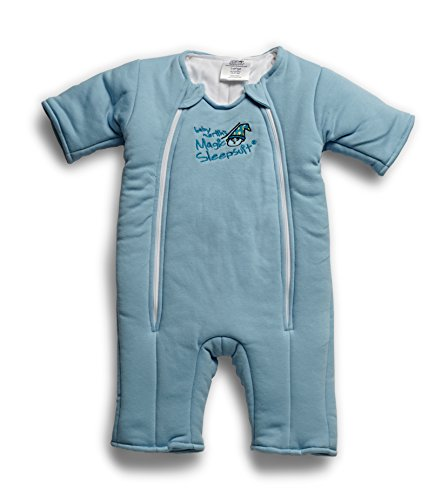 1 Cotton Baby Sleeper - Baby Merlin's Magic Sleepsuit Cotton - Blue - 6-9 months