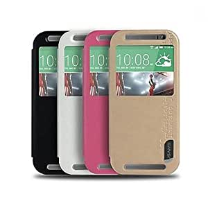 Concise Design PU Leather Full Body Case for HTC ONE M8 MINI