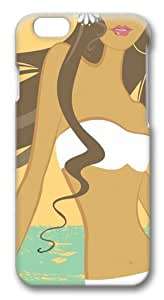 Beach Babe1 Polycarbonate Hard Case Cover for iphone 6 plus 5.5 inch 3D
