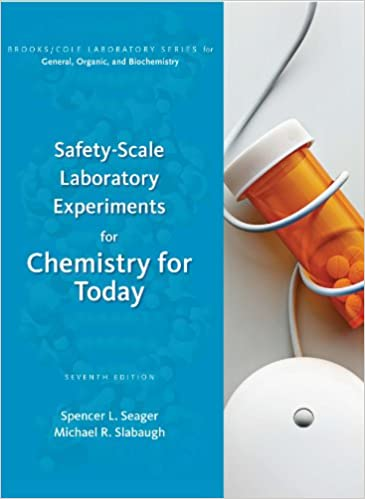 Safety scale laboratory experiments for chemistry for today brooks safety scale laboratory experiments for chemistry for today brooks cole laboratory series for general organic and biochemistry 7th edition fandeluxe Image collections