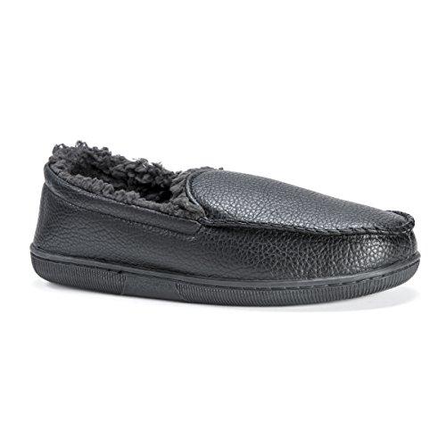 Slip Moccasin Men's LUKS MUK Black Loafer Black On 7vZgnaI