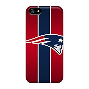 New Snap-on L.M.CASE Skin Case Cover Compatible With Iphone 5/5s- New England Patriots