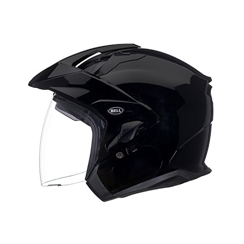 otorcycle Helmet (Solid Black, X-Large) (D.O.T.- Certified) ()