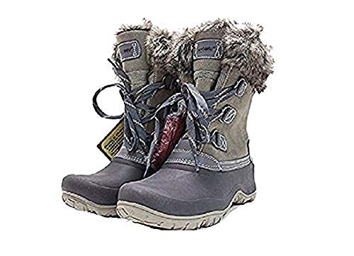 - Khombu Women's The Slope Winter Snow Boots Grey Size 7