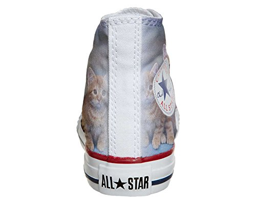 Converse Customized Adulte - chaussures coutume (produit artisanal) Puppies