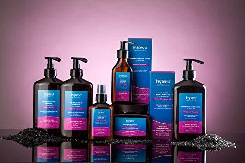 Inspired Professional Velvet Leave-In Detangler Keratin Hair Care Whipped Creme Argan Oil Deep Conditioning Repair Cream Moisture Unlocks Knots & Tangles Lock Styling Gloss Lotion 400 ml/13.5 fl.oz