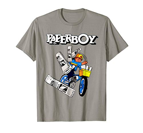 Paperboy 80s Gamer T shirt for Adults or Kids