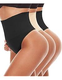 LANFEI Women's Shapewear Thong Slimming Body Shaper Tummy Control Panty