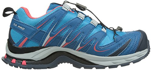 Salomon Xa Pro 3d Gtx Damen Traillaufschuhe Blau (boss Blauw / Donker Blauw / Papaya-b)