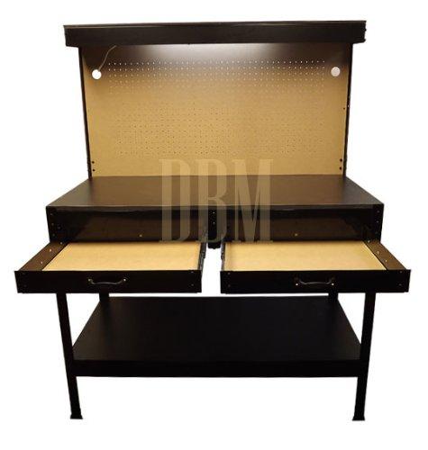 Multipurpose Workbench Cabinet Light Garage Workstation Tool Holder Storage by Generic (Image #3)