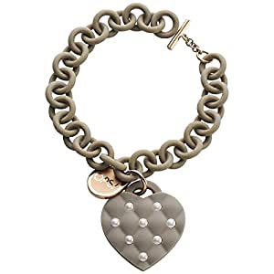 Ops Objects Women's Polycarbonate and Stainless Steel Chain Bracelet
