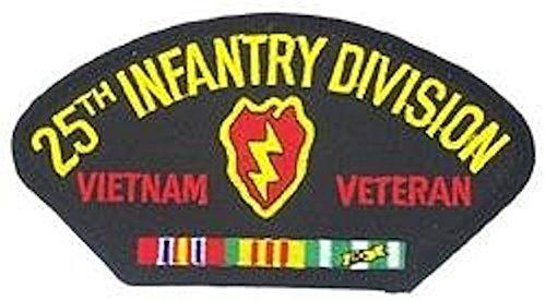 - Hcm Men's 25th Infantry Division Vietnam Patch