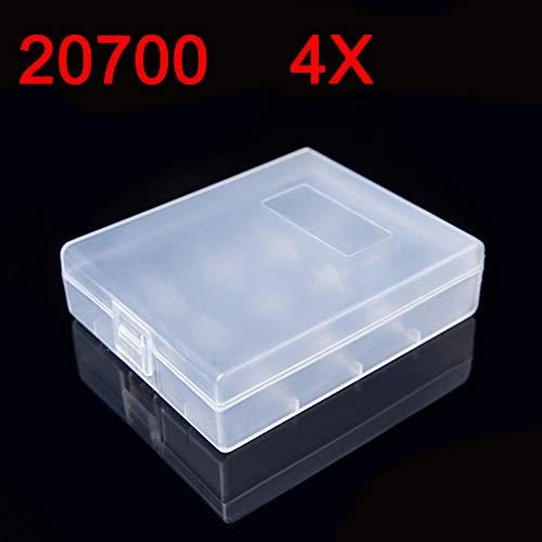 20700/21700 Plastic Battery Case Portable Four Box 4 Bay