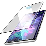 TOZO for Samsung Galaxy Note 10 Screen Protector Glass [ 3D Full Frame ] Premium Tempered 9H Hardness Super Easy Apply for Samsung Galaxy Note 10 Work with Most case (Black Edge)