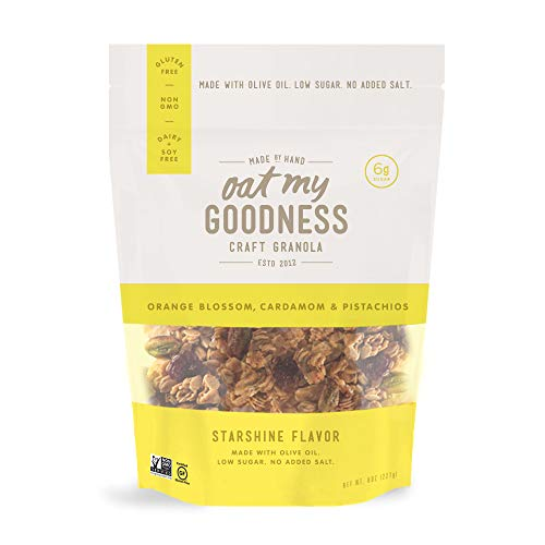 Oat My Goodness Premium Craft Granola, Starshine, 8 Ounce (Pack of 2) ()