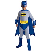 Rubies Costume Co Batman The Brave and The Bold Batman Costume with Mask and Cape, Small