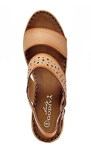 052b6df50e5b ... Lady Godiva Women s Open Toe Wedge Sandals Multiple Styles B079YXGRQX  B079YXGRQX B079YXGRQX 8.5 B(M ...