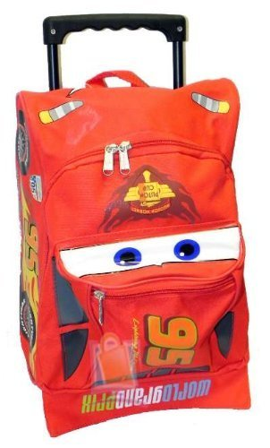Disney Pixar Cars Toddler Rolling Backpack