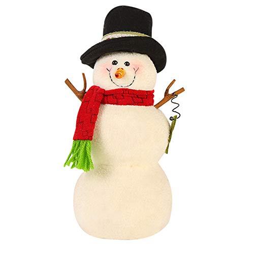 Christmas Gift Hot Sale!!!Kacowpper Christmas Decorations Snowman Animated Plush Toy Doll Stuffed Animal Xmas Gift