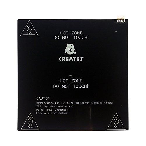 KR-10S 300 x 300mm KB1 Aluminum Heated Bed Hot Bed PCB Heatbed Platform for DIY 3D Printer 250W 24V