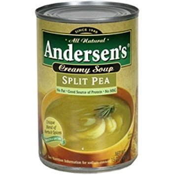 Andersen's Split Pea Soup, 15 Ounce (Pack of 12) ()
