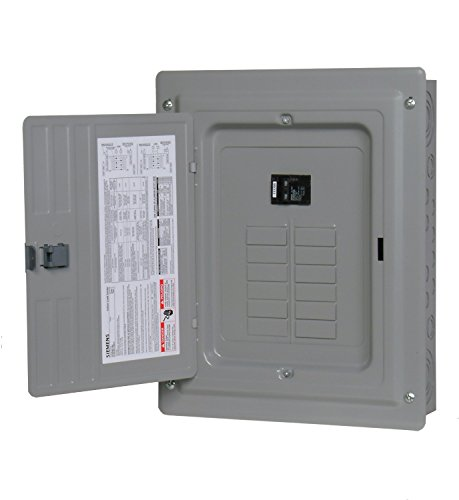 (P1224B1100CU 100-Amp 12-Space 24-Circuit Main Breaker Load)