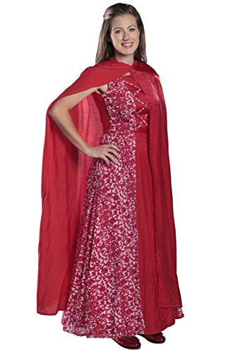 Big Bad Wolf Newborn Costume (Princess Paradise Women's Adult Princess Riding Hood, Red, Medium)