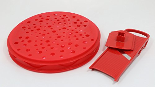 TopChips 4 Piece Chips Maker Set Color: Red