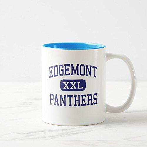 Zazzle Edgemont - Panthers - High - Scarsdale New York Coffee Mug, Light Blue Two-Tone Mug 11 - Light 2 Edgemont