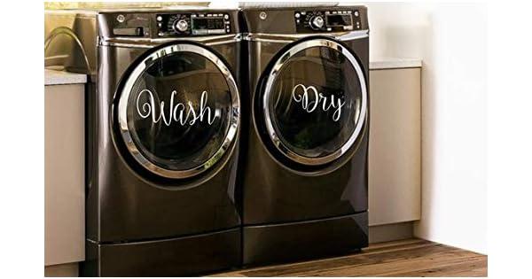 Amazon.com: CELYCASY Pegatinas para lavado y secado, para ...
