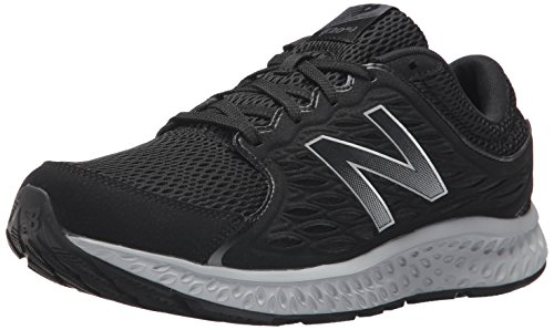 New Balance Men's M420V3 Running Shoe, Black/Thunder/Silver Mink, 11.5 D US