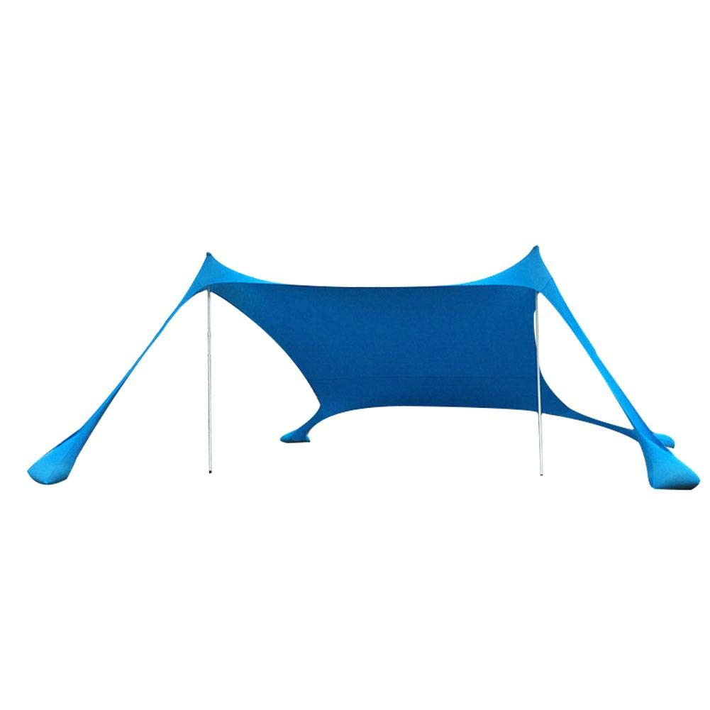 Ntribut Tente De Plage Tentes Dombrage pour Parcs De Plage Et Auvents Ext/érieurs