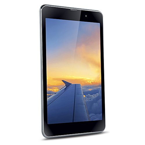 iBall Slide Wings Tablet (8 inch, 16GB, Wi-Fi+ 3G with Voice Calling), Steel Grey …