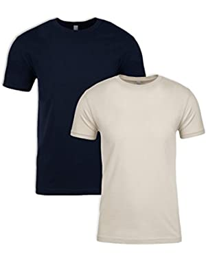 N6210 T-Shirt, Midnight + Sand (2 Pack), X-Large