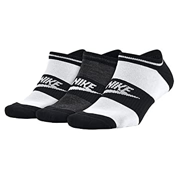 Nike NSW Womens-3ppk No Pack 3 Pares de Calcetines, Mujer, (White