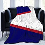 Keep Warm Sherpa Flannel Fleece Throw Blanket for Sofa Couch Winter/Autumn, Comfy Soft King Size Sleeping Blanket Wrap Sheet, Flag of American Samoa Blanket