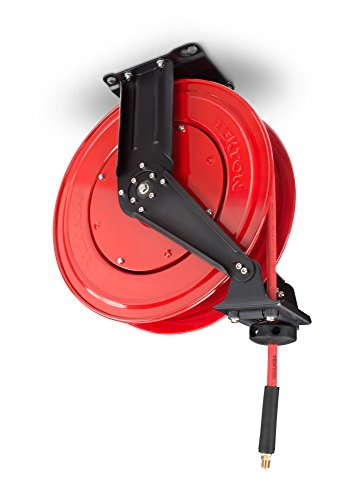 TEKTON 50-Foot by 3/8-Inch I.D. Dual Arm Auto Rewind Air Hose Reel (250 PSI) | 46875 by TEKTON (Image #1)