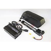 36V 15AH OEM 3.7V 2500mAH Cell 18650PF Down Tube TigerShark Frame Case Li-ion Battery AKKU Mit BMS für eBike und gratis 5A Ladegerät