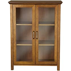 Elegant Home Fashion Anna Floor Cabinet with 2-Door