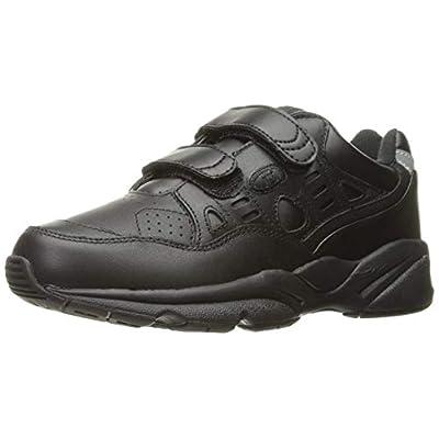 Propet Women's Stability Walker Strap Walking Shoe, Black, 10 2E US | Walking