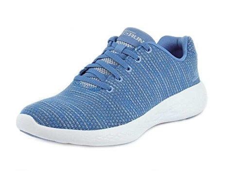 Skechers Womens GOrun 600 - Obtain Blue Sneaker - 8.5