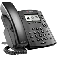 Polycom VVX 311 Corded Business Media Phone System - 6 Line PoE - 2200-48350-001 - AC Adapter (Included)