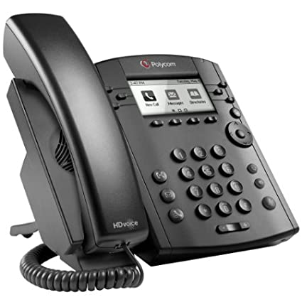 Polycom VVX 311 Corded Business Media Phone System - 6 Line PoE - 2200-48350-001 - AC Adapter (Included) Polycom Inc.