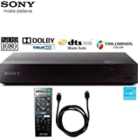 Sony BDPS1700 Wired Streaming Blu-Ray Disc Player with 6ft High Speed HDMI Cable (Renewed)