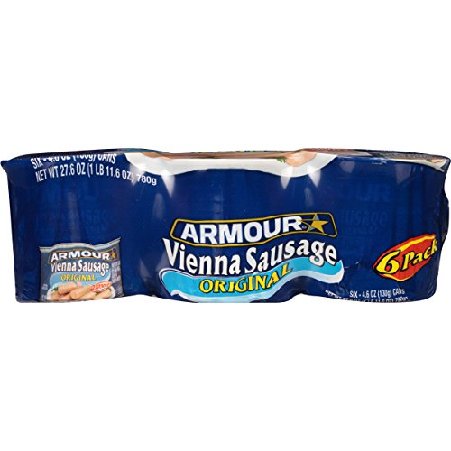 Large Product Image of Armour Vienna Sausage, Original, 4.6 Ounce, 6 Count