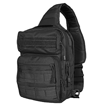 Amazon.com : Fox Outdoor Products Stinger Sling Bag, Black ...