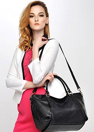 Souple Femmes portés Nouveau Sacs Violet main Sacs Violet SAIERLONG épaule Mode Cuir à pBXq5C5